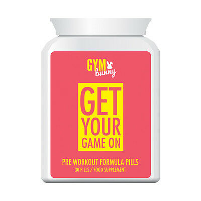 GYM BUNNY GET YOUR GAME ON PRE-WORKOUT FORMULA GREAT TONE image