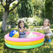 Bathing Tub Inflatable Swimming Pool Thicken Summer Paddling Pool Outdoor Baby Float Ring Bathtub Toy Beach Air Mattress
