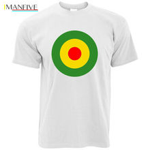 Reggae Roundel T-Shirt Jamaica Dub Mods Scooters Skinhead Cool Retro Men 2019 Summer O Neck MenS Famous Clothing Create A Shirt