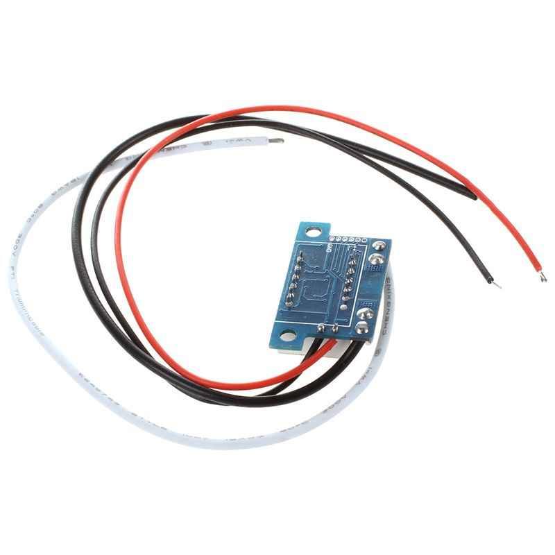 DC 0-10A ampères rouge LED ampères panneau mètres 3 bits affichage pas besoin de Shunt ampèremètre numérique