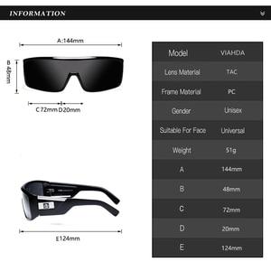 Image 3 - 2020 Viahda Fashion Brand designer Mens Mirror Sunglasses for Women and Men Sports Driving Coating UV400 Eyewear Sun Glasses