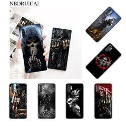NBDRUICAI Grim Reaper Череп Скелет Телефон чехол для Samsung Note 3 4 5 7 8 9 10 pro M10 20 30