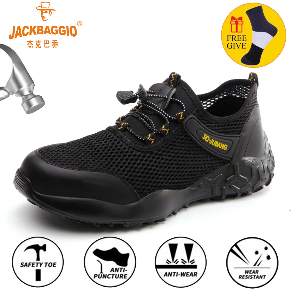 Safety Military Boots Work Casual Shoes