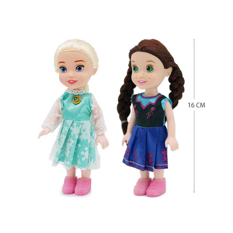 3pcs Frozen Princess Disney Anna Elsa Doll Toy Toddler 8 Styles Of Clothes Girls