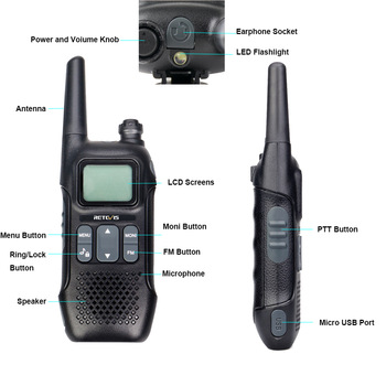 Retevis rt616 rt16 pmr walkie talk