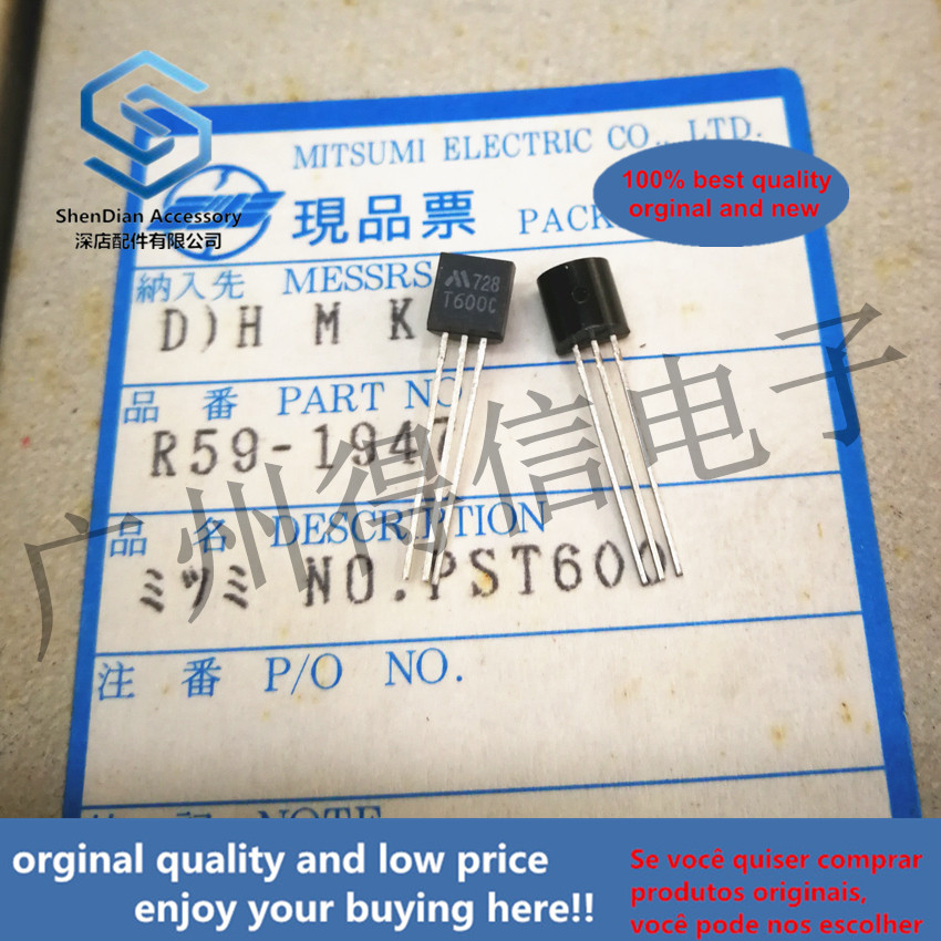 10pcs 100% Orginal New PST600C T600C TO-92 Real Photo