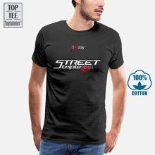 T-Shirt Passt Street Triple 765 Rs 2017 Herren Moto Motorycle Unisex Tees