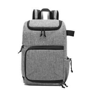 Image 1 - Bolsa de foto de cámara material impermeable y gran capacidad, la mochila es adecuada para exteriores o bolsa de lente de viaje bolsa de trípode