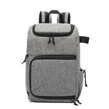 Kamera fotoğraf çantası su geçirmez malzeme ve büyük kapasiteli, sırt çantası için uygundur açık havada veya seyahat objektif çantası tripod çantası