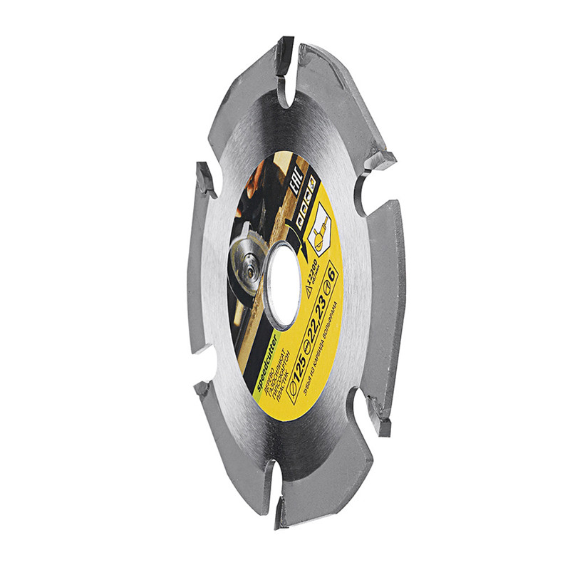 125mm 6T Circular Saw Blade For Angle Grinders Multitool Grinder Saw Disc Carbide Tipped Wood Cutting Disc Carving Disc Blades