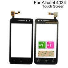 Touch Screen Digitizer Panel For Alcatel Pixi 4 OT 4034 4034D 4034X OT4034 OT4034D 4034 Sensor Tools 3M Glue Wipes