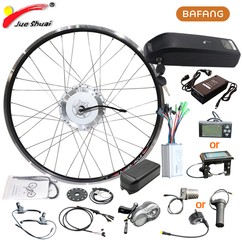 BAFANG 8fun <font><b>36V</b></font> 250W E-bike Electric Bike Conversion kit 26inch 700C Front Bicycle hub <font><b>Motor</b></font> Wheel Hailong Battery LCD Ebike Kit image