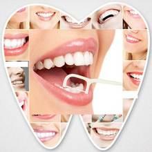 Одноразовая зубная нить межзубная щетка Зубная палка палочка