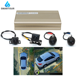 Smartour auto 3D 1080P HD 360 Graden bird View Surround Systeem Panorama Alle ronde View Camera system met DVR Quad-core CPU