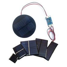 Pannello solare Min allingrosso 0.5V 1V 2V 3V 4V 5V 80MA 100MA 120MA 130MA 160MA cella solare per solare fai da te con caricatore solare Lipo