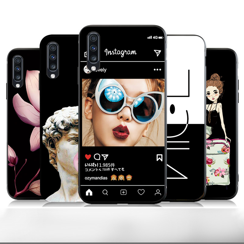 For Vivo IQOO NEO Snapdragon 855 Shockproof Case Cover Phone Case INS Lovely Woman For Vivo IQOO NEO Black TPU Bumper Iqoo Neo