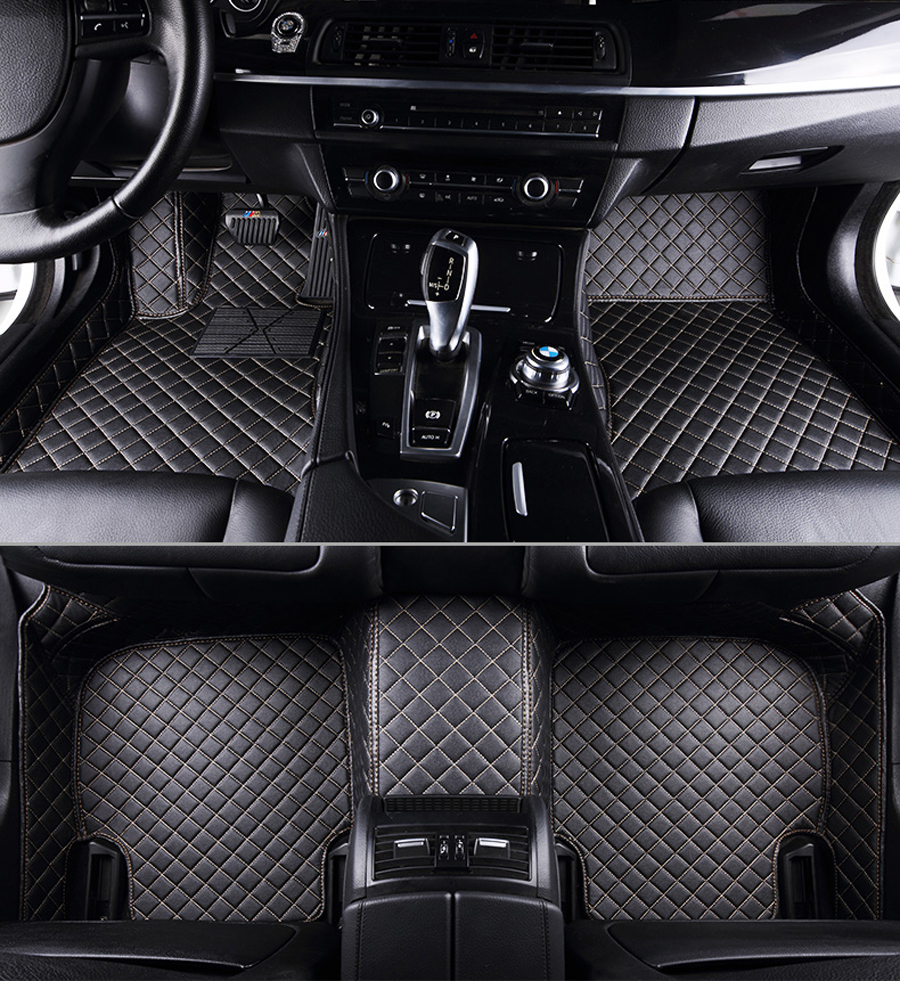 Car-Floor-Foot-Mat Waterproof-Accessories E30 F34 Auto E70 F48 for Bmw F10x5/E70/E53x4/.. title=