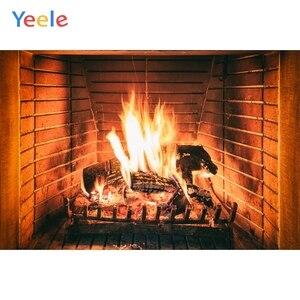 Image 5 - Yeele 벽돌 벽 벽난로 화재 겨울 초상화 아기 사진 배경 사진 스튜디오에 대한 사용자 지정 사진 배경
