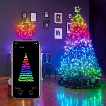 Smart LED Strip Lights – App Controlled Light String for Chirstmas tree,waterproof IP65