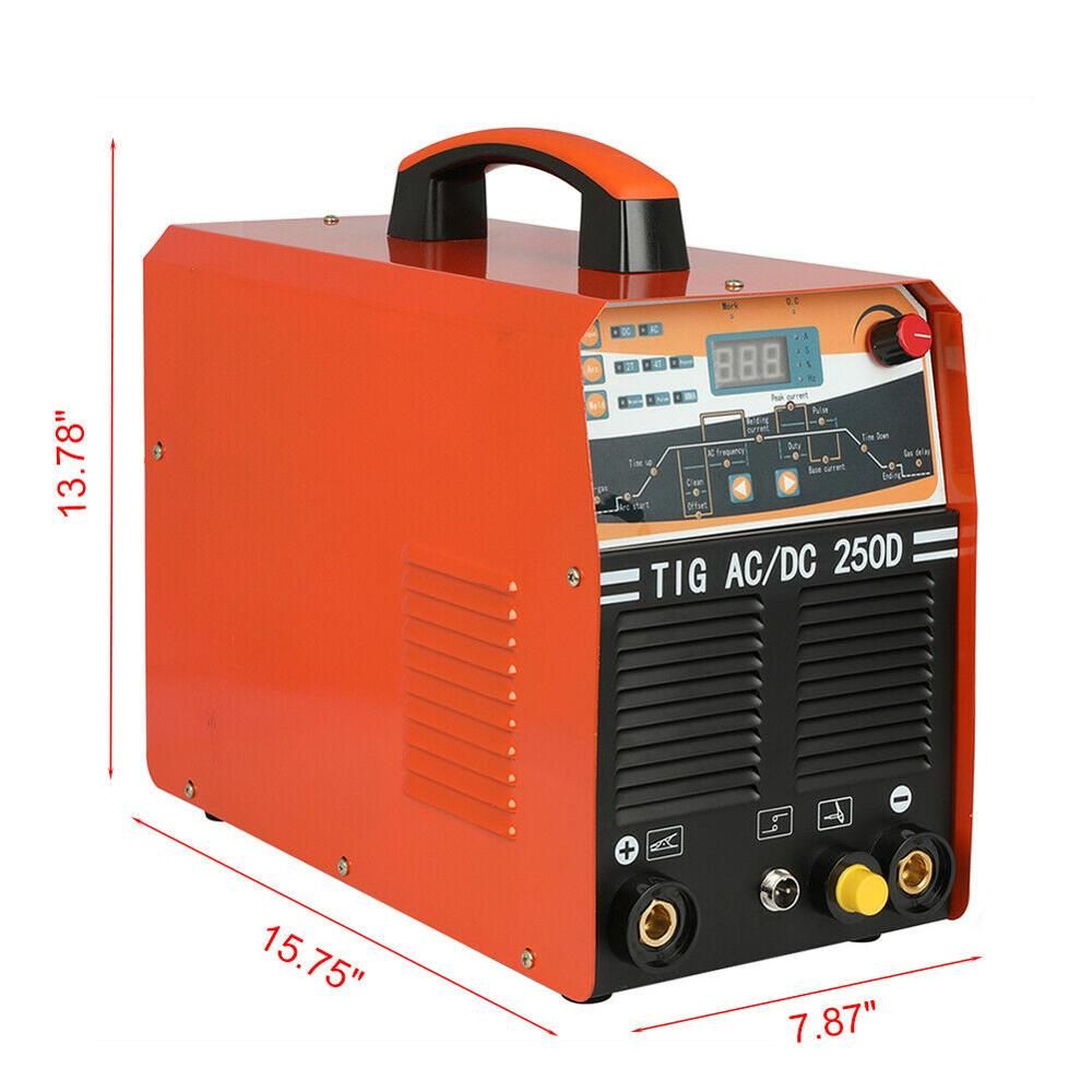 1 AC 250AMP IGBT Pulse In TIG 4T Welding 2 230V 2T Inverter Machine DC MMA