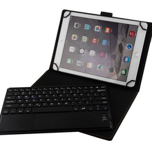 Kami/SPA/Ger/FR Universal Touchpad Keyboard Case untuk 8-8.9 Inci Ipad Huawei Samsung LG toshiba IOS Android Microsoft Tablet Case(China)