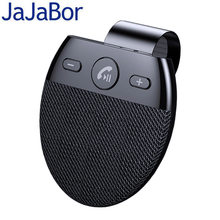 JaJaBor Bluetooth Car Kit Bluetooth 5,0 Freisprecheinrichtung Drahtlose MP3 Musik-Player mit Mikrofon Auto Power Auf/Connect