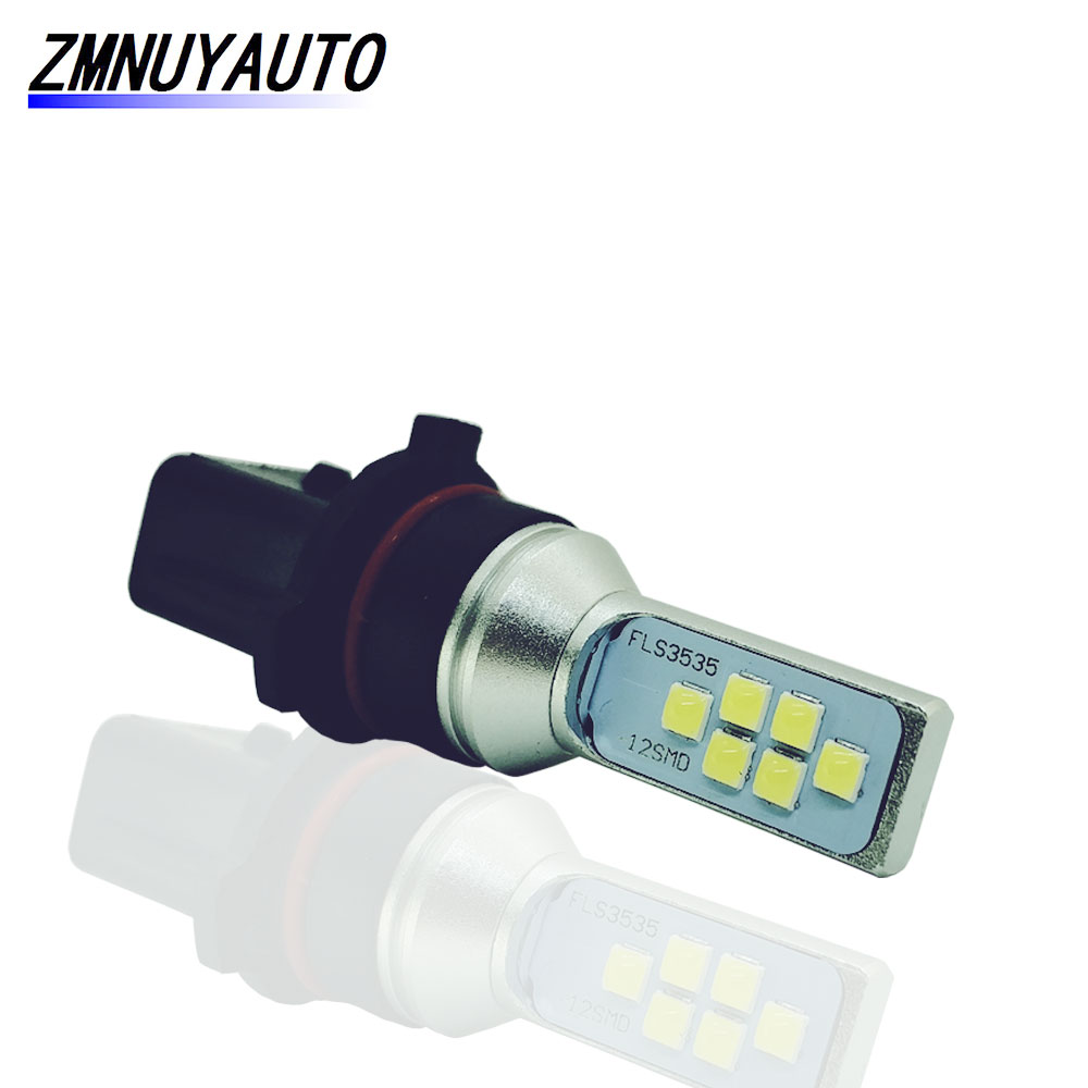 LED P13W High Powe 8W Car LED Bulbs Auto Driving Running Lights P13W Fog Lamps White 12V 24V 6000K