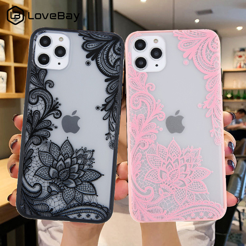Mandala Lace Flowers Phone Case For Iphone 11 Pro Max
