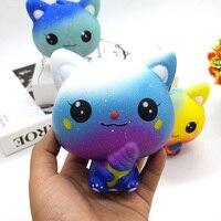 Boneca de gato com recuperação lenta e antiestresse, brinquedo de descompressão para crianças e adultos