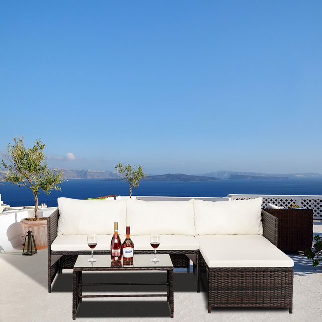 Sectional Patio Furniture Set 5