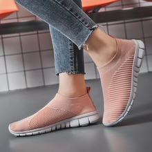 Women Running Shoes Jogging Shoes Breathable Fly weave Outdo