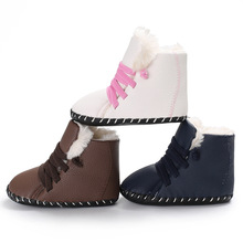 Baby Snow Boots Warm Boots for Babies Winter Non-Slip Toddler Shoes Baby Boots