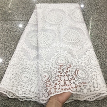 Lace Dress Nigerian African Tull White French High-Quality