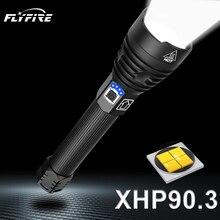 400000 lm xhp90.3 가장 강력한 led 손전등 토치 usb xhp50 충전식 전술 손전등 18650 또는 26650 핸드 램프 xhp70