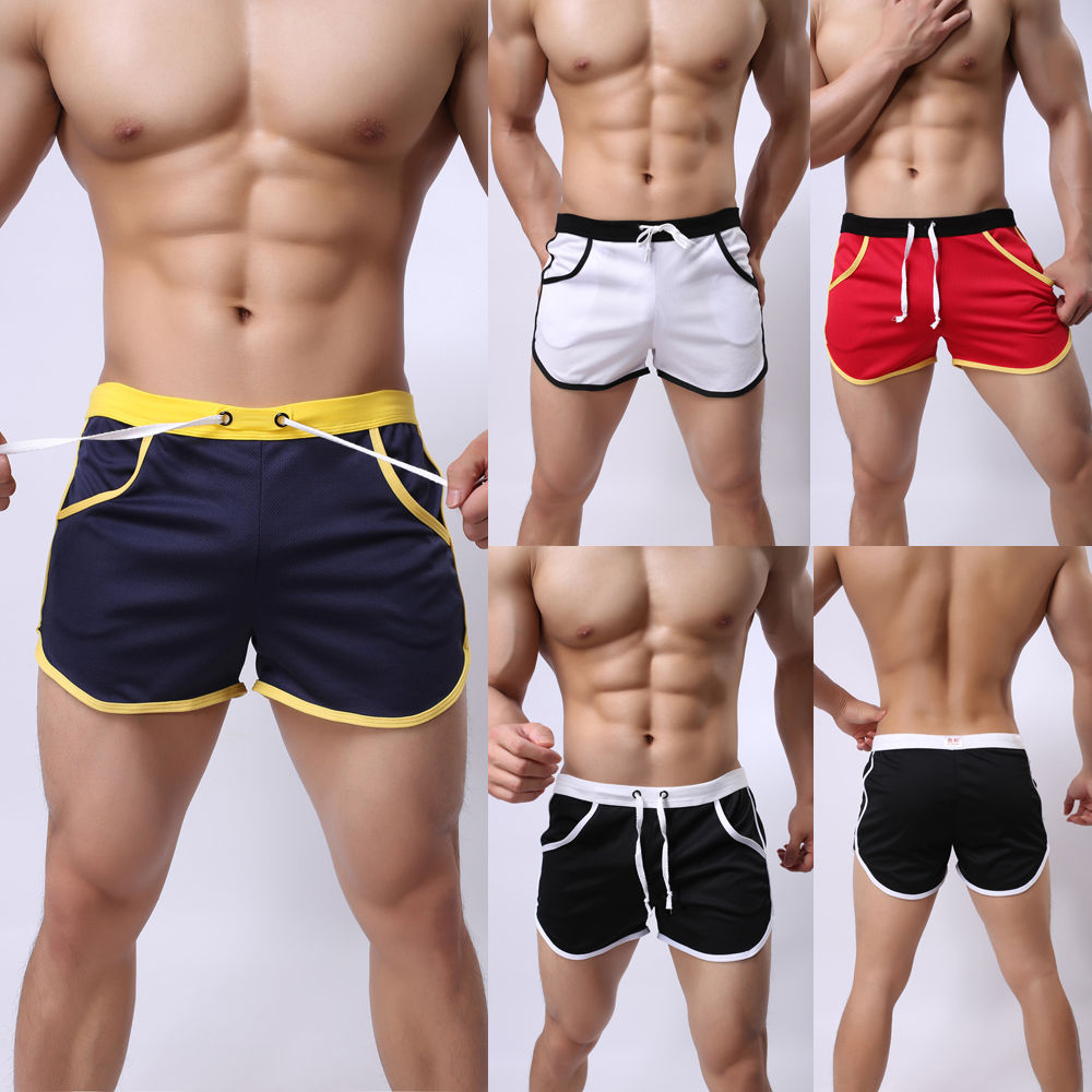 Summer Leisure Men's Shorts Sportwear Men Trunks Comfort Homewear Fitness Workout Shorts Men