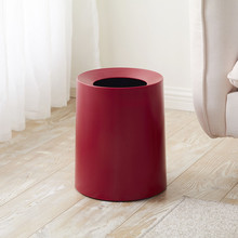 Fashion Round Plastic Waste Cans Home Receiving Junk Cans Kitchen Toilet Flame Retardant Waste Cans Trash Can cans page 4