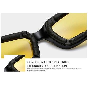 Fashionable Motorcycle Glasses Racing Anti-glare Windproof Vintage Men Women Safety Goggles Eyeglasses Sunglasses Eye Protection 3