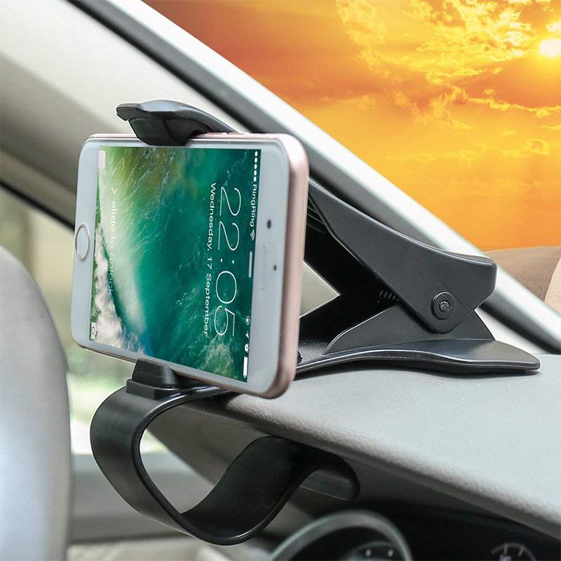 IKSNAIL-Car-Phone-GPS-Holder-HUD-GPS-Phone-Universal-Cradle-Crocodile-Dashboard-Mount-Clip-navigation-Bracket (1)