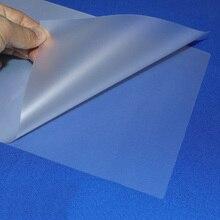 100 unids/lote 50 mic, A4 película de laminación térmica PET para fotos/archivos/tarjeta/imagen rollo de película para laminado película de plástico Plastifieuse