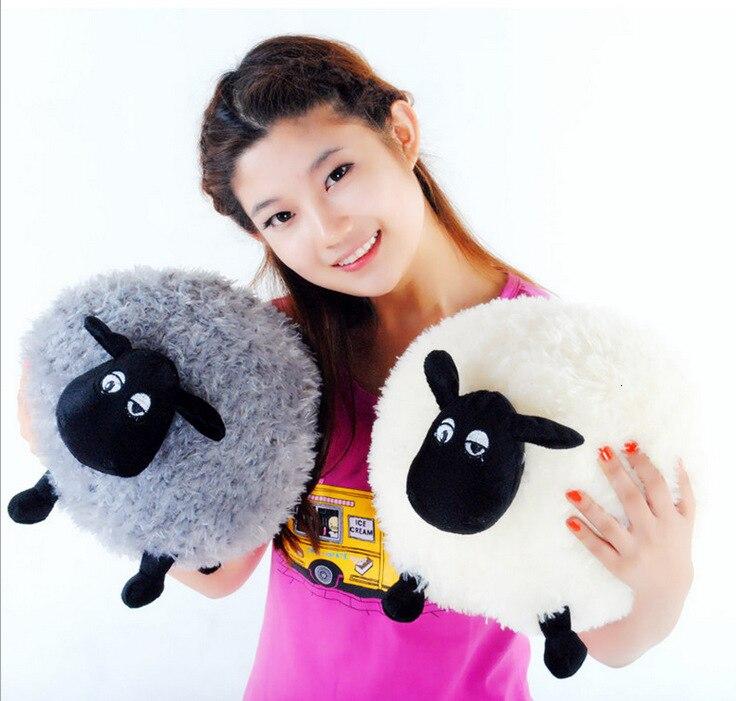 30cm Micro For Anime Peripheral Shaun Plush Toy Sheep Doll Cartoon Cute Kids Toy Children Birthday Surprise Gift For Xmas
