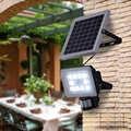 Zonne energie Pir Motion Sensor Inductie Led schijnwerper 10W 20W 30W 50W Waterdichte Led Beveiliging straat Licht Solar Spotlight