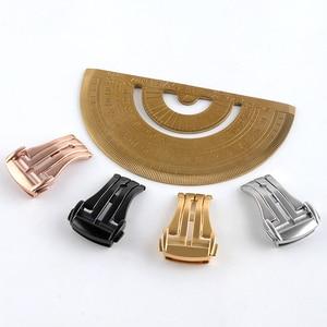 Кожаный Резиновый силиконовый ремешок с застежкой для часов Omega, с пряжкой-бабочкой, 16 мм, 18 мм, 20 мм, черный, золотой, серебристый, розовый золотой блеск + инструмент