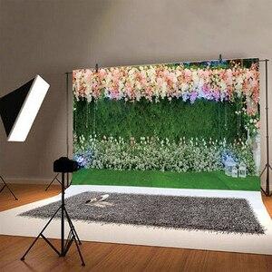 Image 2 - Yeele Свадебная церемония, вечеринка, занавес, цветы, портрет, Индивидуальные фотографии, фоны для фотостудии