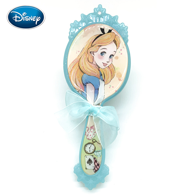 Disney Alice Princess Comb Girl Baby Hair Brush Little Princess Air Cushion Massage Makeup Comb