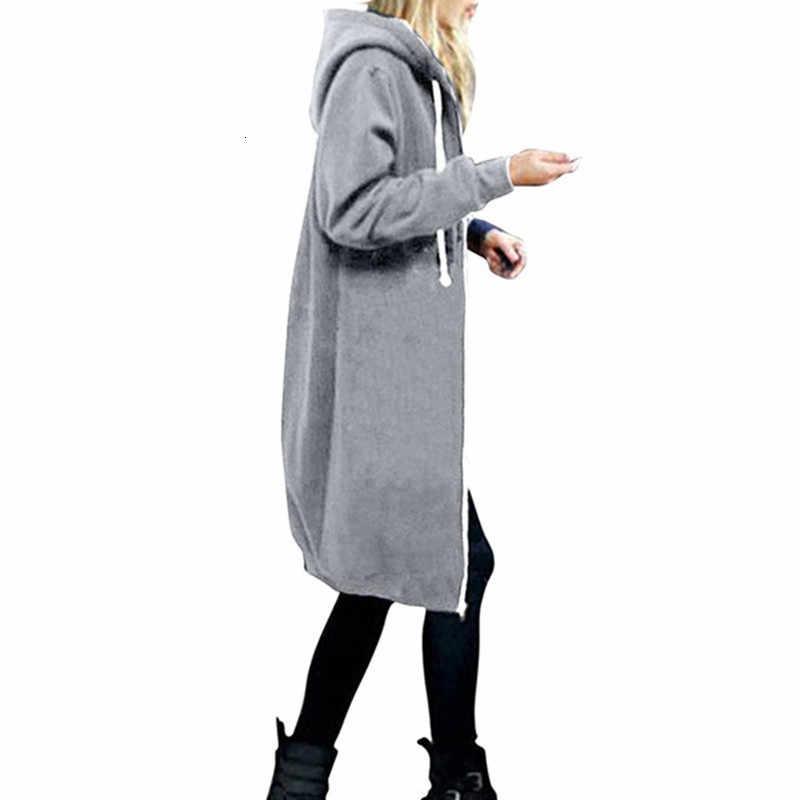 Suéter de otoño para mujeres embarazadas de gran tamaño 2019 nuevo cárdigan holgado con capucha para mujeres embarazadas con cremallera más abrigo de maternidad de invierno de terciopelo