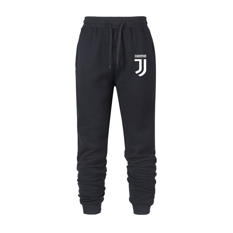 AliExpress Hot Selling Juventus Words Men Slim Fit Cotton Sweatpants Casual Fitness Athletic Pants Europe And America Popular Br