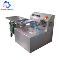 Cheap 15kg Small Automatic Chocolate Melting Tempering Processing Machine with Vibrating Vibration Table Price for Sale