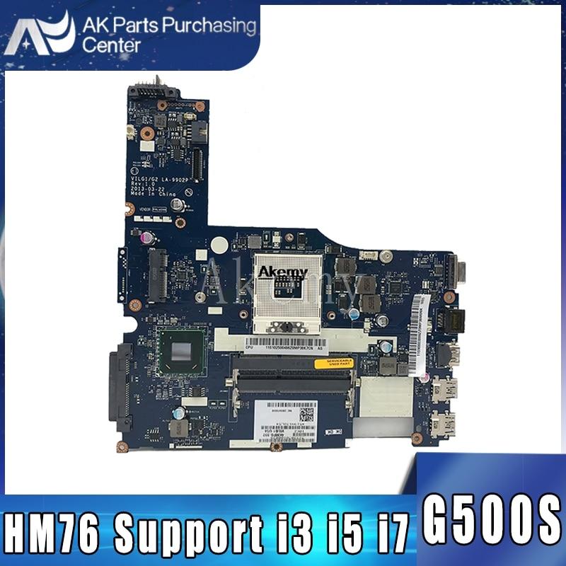 Original New G500s Motherboard For Lenovo G500s VILG1/G2 LA-9902P ( HM76 Support For Pentium I3 I5 I7 Cpu )