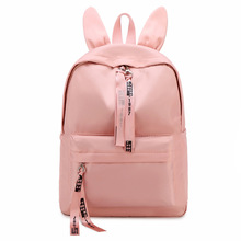 Cute Women Backpacks Waterproof Nylon School Bags for Teenagers Girls Causal Travel Laptop Backpack Mochilas