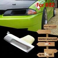 FRP Fiber Unpainted Headlight Replacement Car accessories Bodykit(LHS) For Nissan Skyline R32 Skyline GTR GTS Ven Style